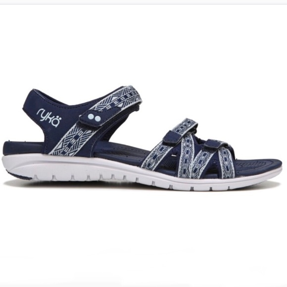 e17380f634d NIB Ryka Women s Blue Savannah Sandal Size 9